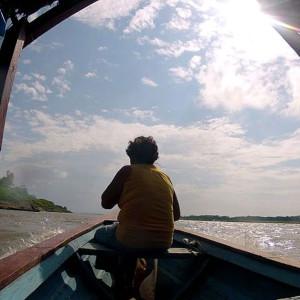 Desde el Puerto de Nauta son tan solo 25 minutos navegando sobre el río Marañón.