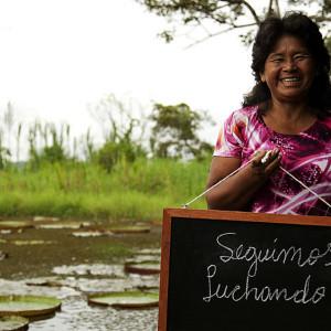 Ema Tupallima, un ejemplo. Presidente de la Comunidad Nativa Puerto Prado y primera Teniente Gobernador de todo Loreto.